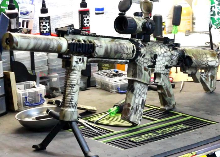 Kryptek Highlander Custom Paint Job Popular Airsoft