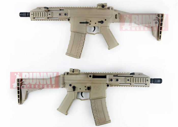 Bunny Workshop GHK - G5 Gas BlowBack Rifle (Tan)
