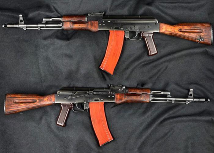 Bunny Custom Vintage GHK AK74 GBB