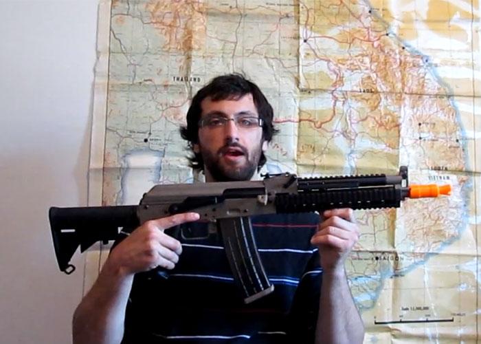 JG MAG-K Tactical AK Airsoft AEG - YouTube
