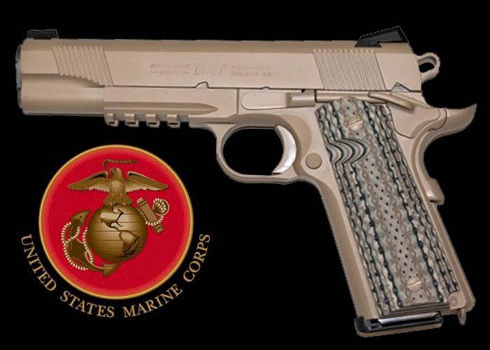Colt 1911 Rail Gun