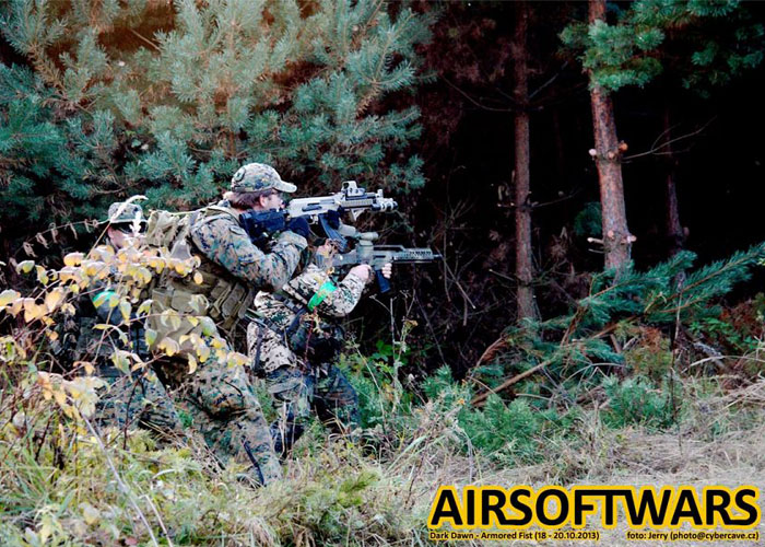 Airsoft Wars Dark Dawn Armored Fist