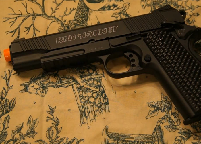 Red Jacket CO2 BlowBack 1911 Review
