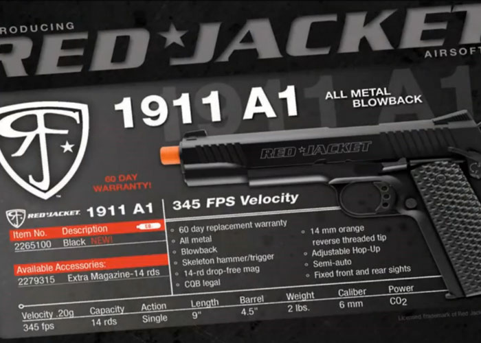 Elite Force & Red Jacket Firearms 1911