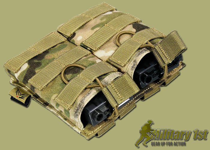 Military1st.co.uk Flyye EV Universal Double Magazine Pouch