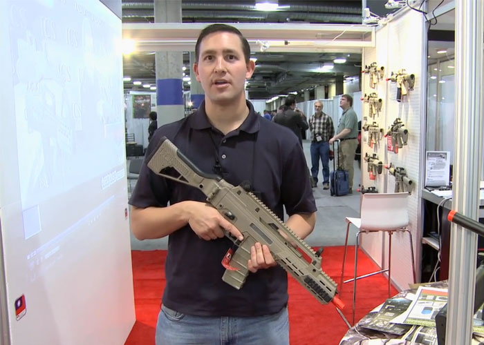 ICS G33 Electric Airsoft Gun Shot Show 2013