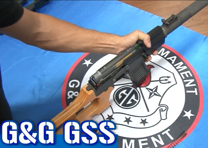 G&G GSS AEG Video Preview