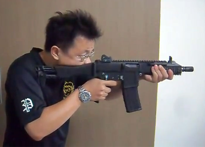 GHK Airsoft G5 Gas Blowback Video