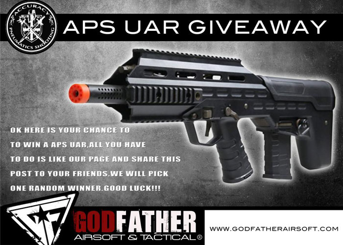 Airsoft giveaway