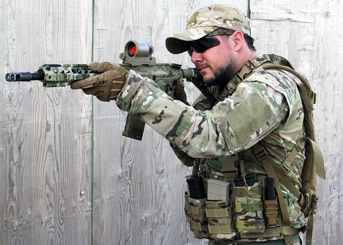 JJ Airsoft SRS Style 1x38 Red Dot  Review
