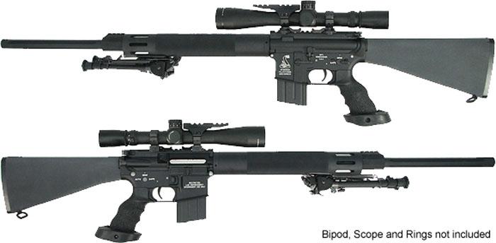 24 free float heavy barrel sniper rifle od