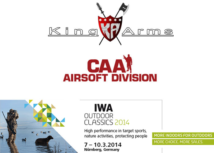 King Arms & CAAAD At IWA & Outdoor Classics 2014