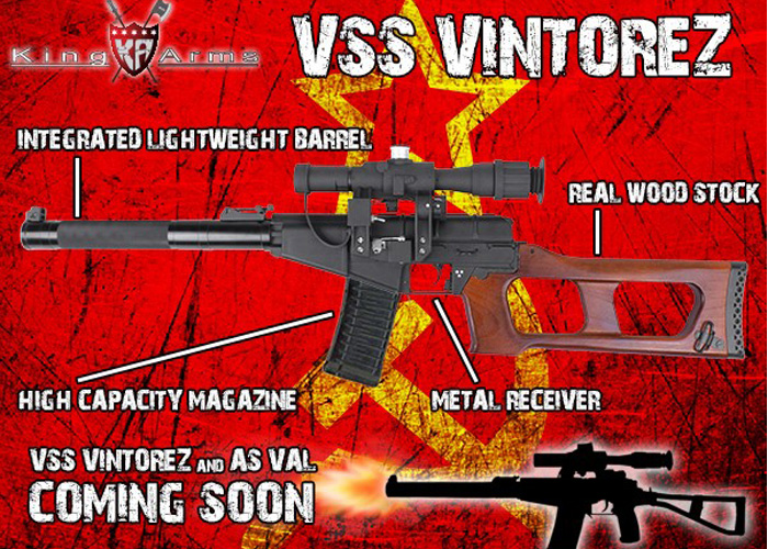 King Arms VSS Vintorez