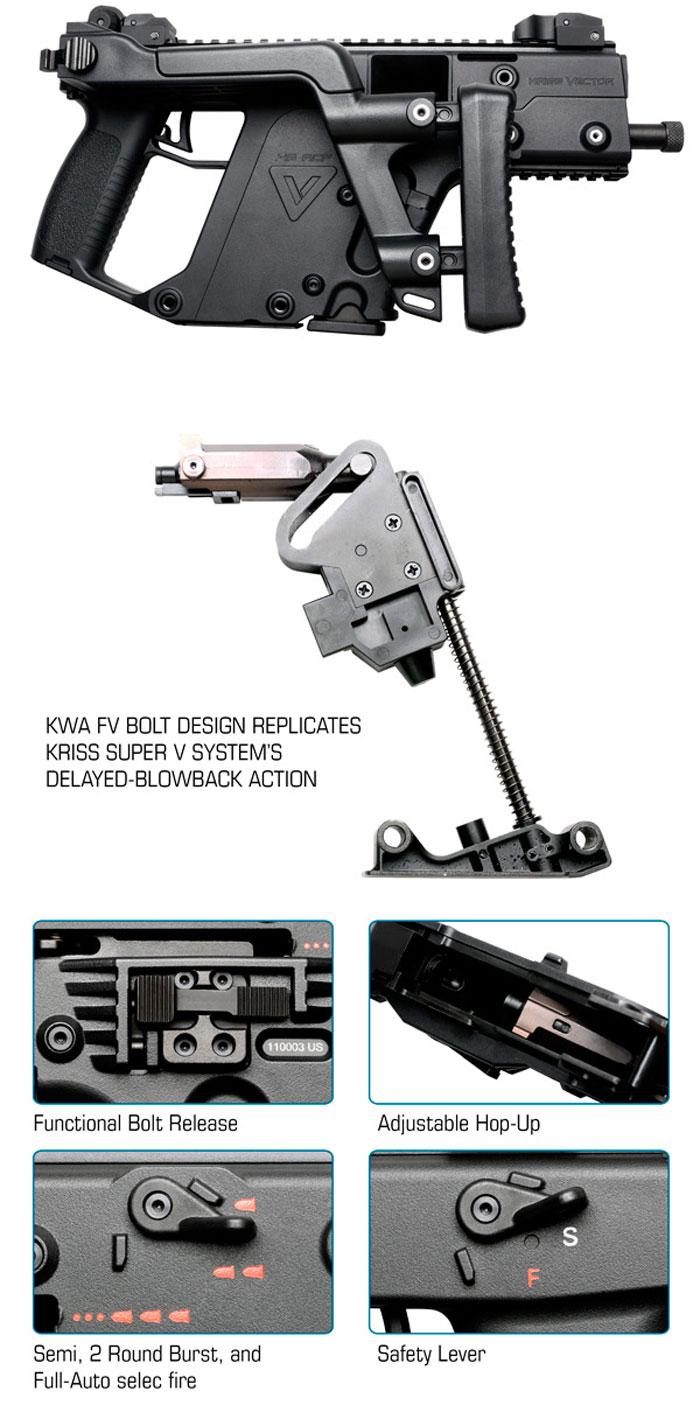 KWA Kriss Vector GBB SMG Pre-Order | Popular Airsoft ...