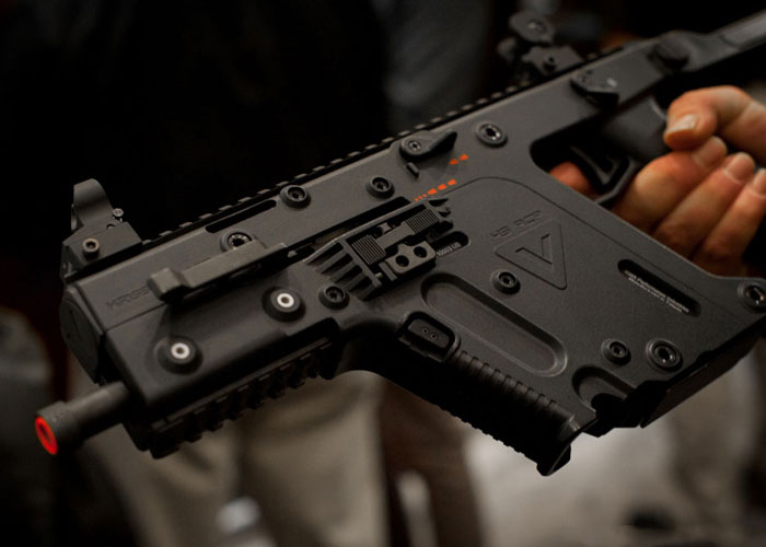 kriss vector aeg version in the works | popular airsoft