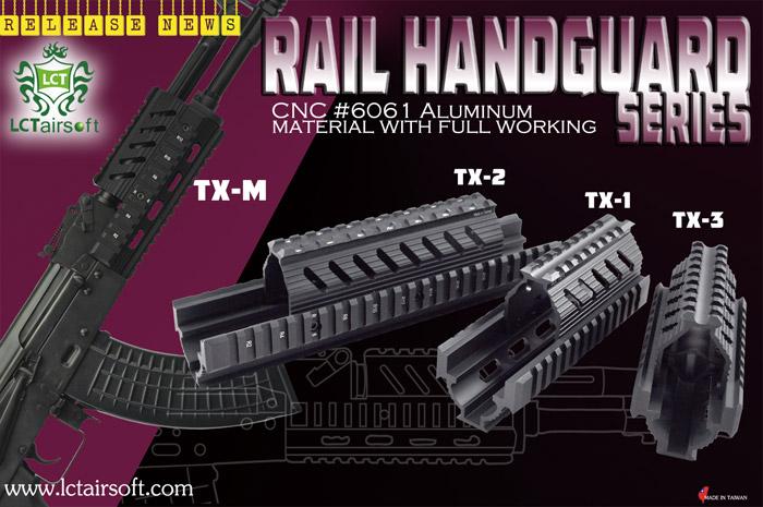 LCT TX Series & AK Upper Rail System   Popular Airsoft