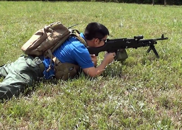M240b Airsoft Engine for Echo1 M240B