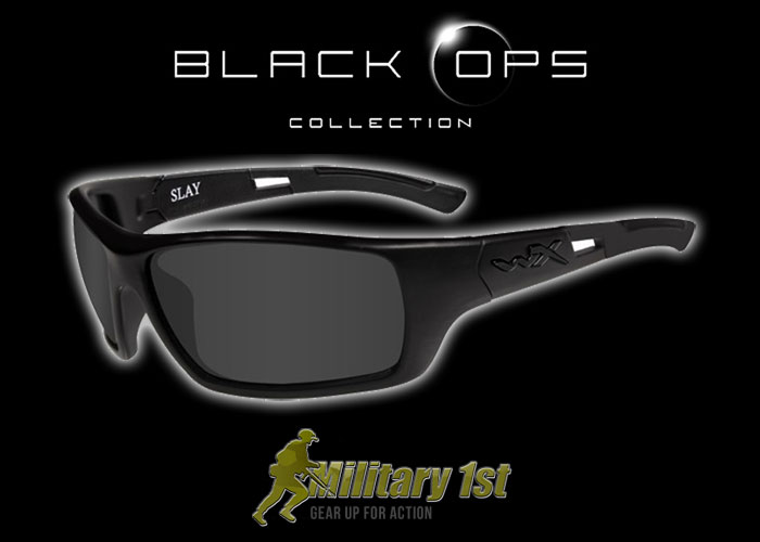 9d4b8bccebc Military1st  Wiley X Slay Black Ops Glasses