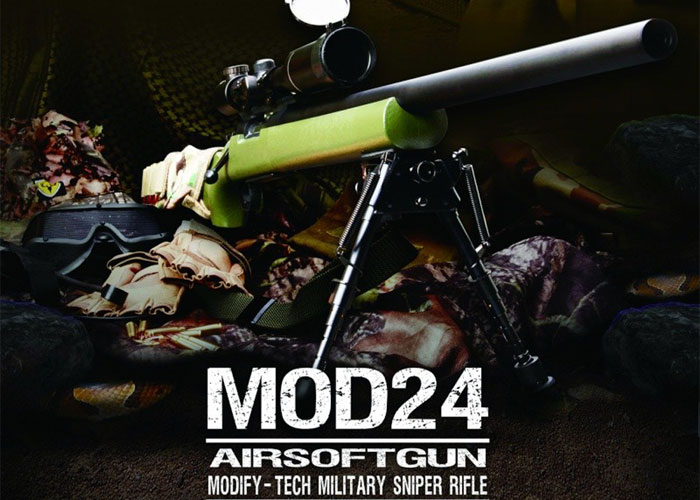 Modify MOD24 Rifle