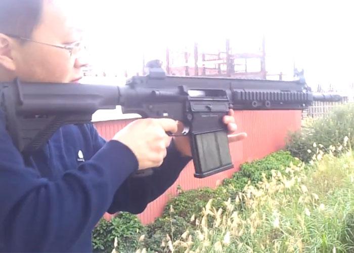 Mystery HK417 GBB