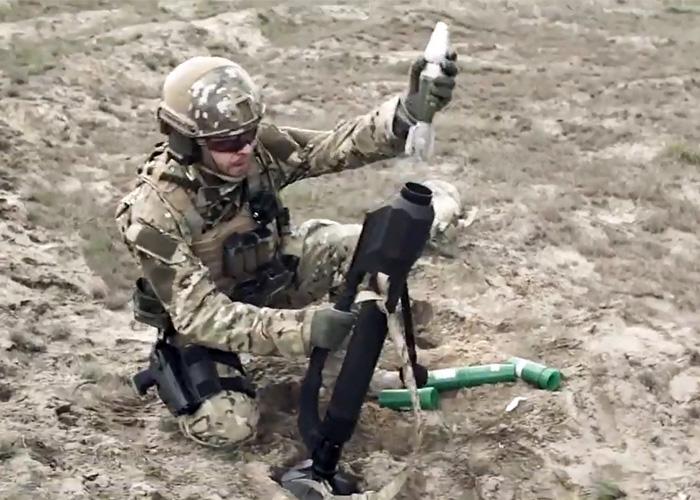 Российских пропагандистов вновь поймали на лжи: оккупанты пытались выдать свой кустарный миномет за украинский - Цензор.НЕТ 9486