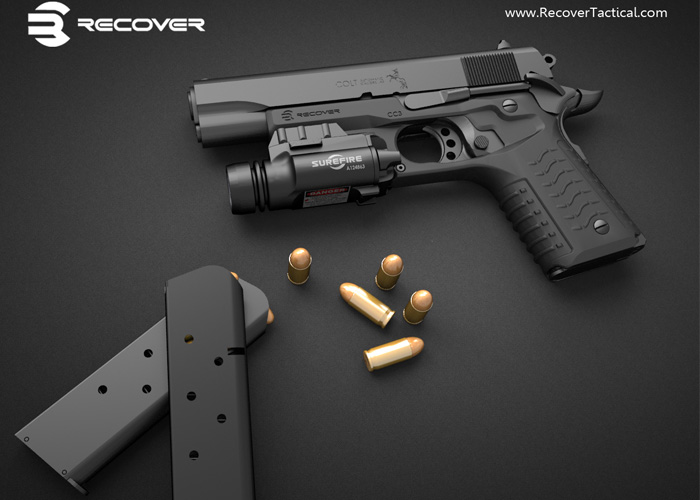 Recover Tactical 1911 Grip & Rail System