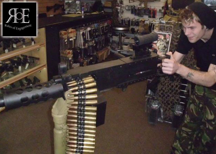ROE Airsoft Shop Custom .50 Airsoft Gun