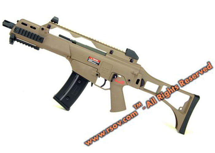 RSOV.com ARES AS36C Tan AEG New Version