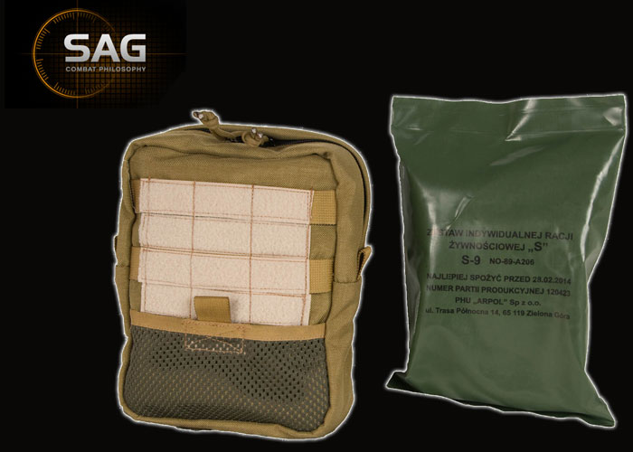 SAG MRE Food Ration Pouch