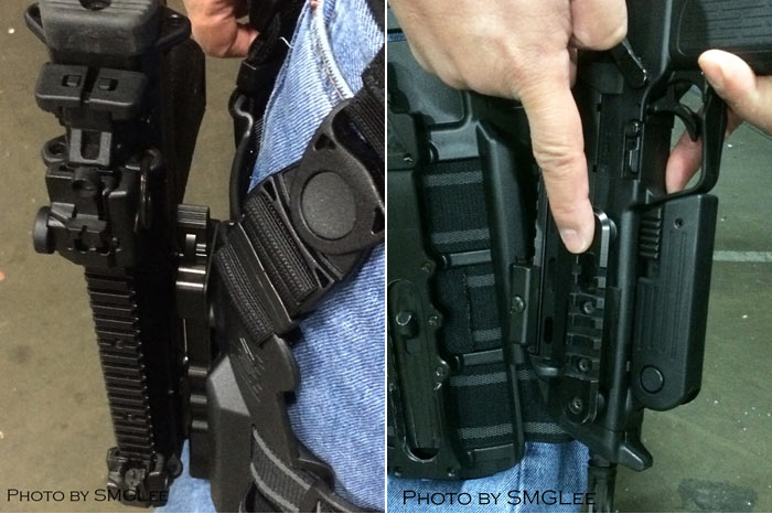 Soldier Systems H Amp K Mp7 Holster Details Popular Airsoft