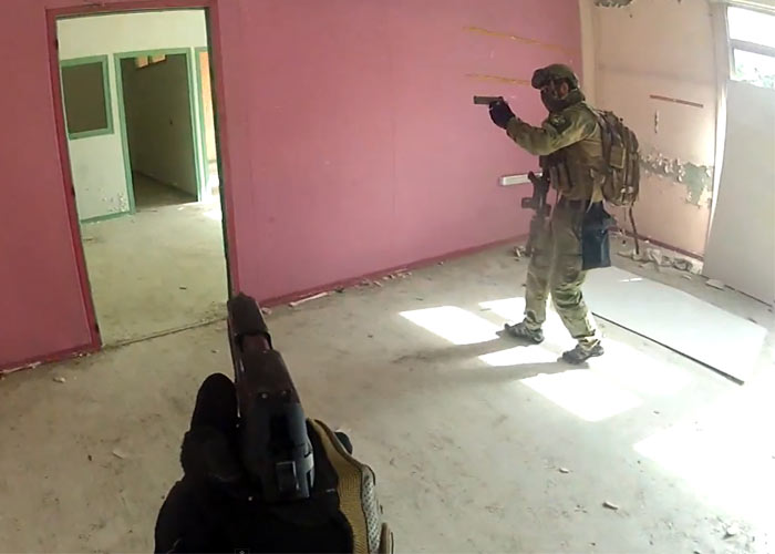 Tactical Black Cats: Airsoft Game On Detention Battlefield
