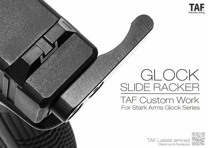 TAF Custom Glock Slide Racker for Stark Arms