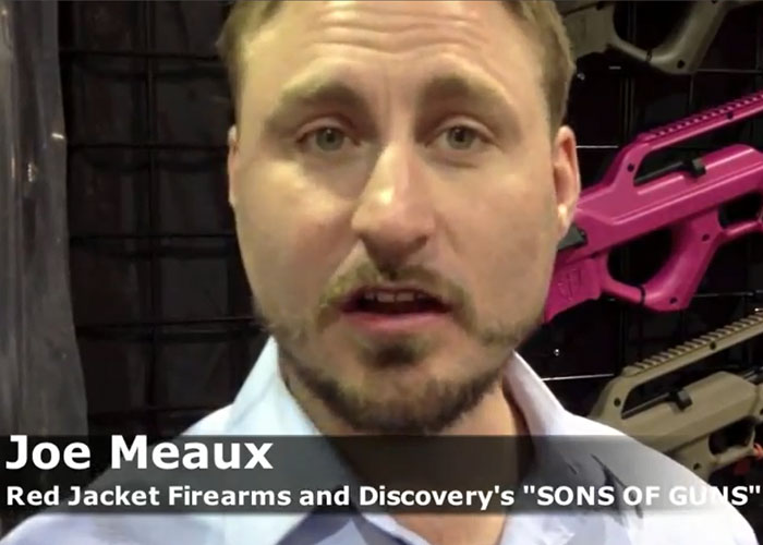 Our latest videos from <b>SHOT Show</b> are coming online at the 3-D House of <b>...</b> - thumpy_rjf_shot2013