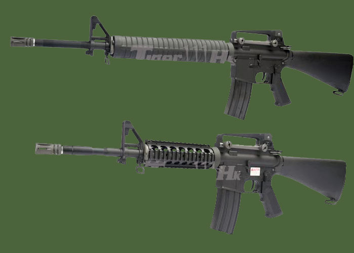Tiger111HK WE Airsoft SR-16 and M16 AEGs