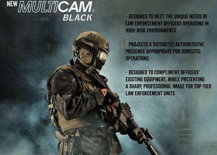 Tru-Spec Multicam Black