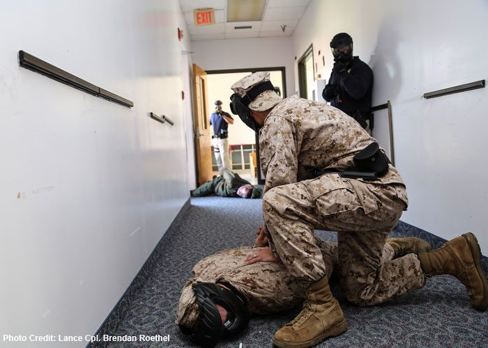 Marine Corps Recruit Depot Parris Island Active Shooter Training Oct. 15, 2013