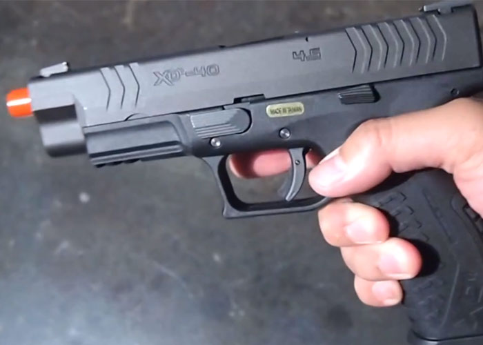 WE XDm Gas Blowback Pistol (Video Review)