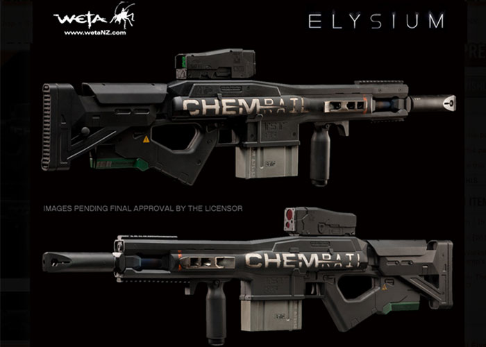 Elysium Ak47 Prop