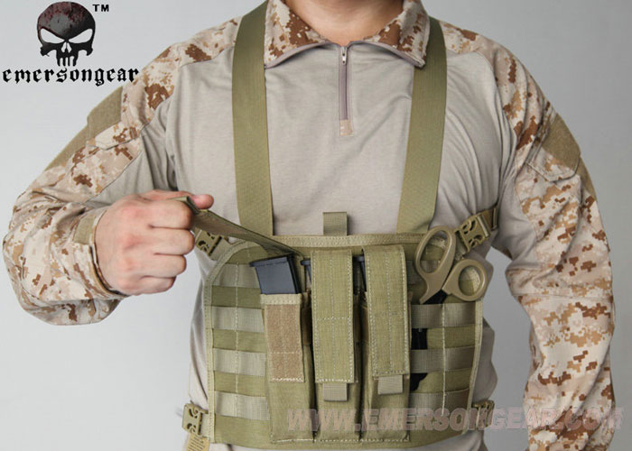 YZH Emerson MP7 Chest Rig