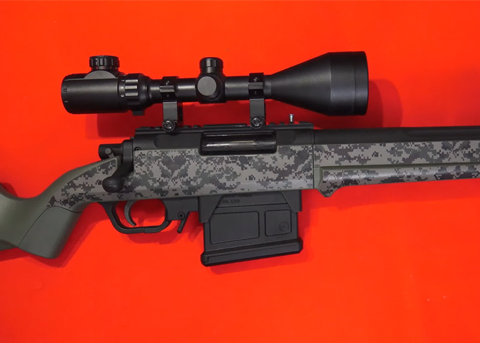 L'Antre du Dingo: Airsoft Skin Zone Kit Camo On Striker AS01