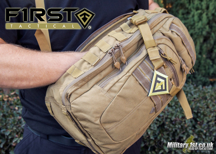 Military 1st: First Tactical Crosshatch Sling Pack