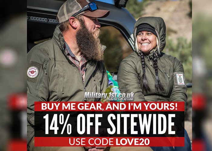 Military 1st Valentine's Day Sale 2020