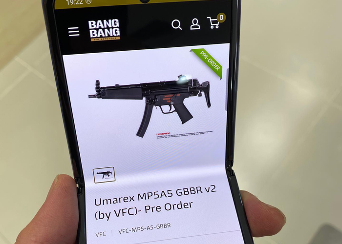Bang Bang VFC MP5A5 GBB SMG