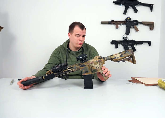 Tom's Airsoft Channel: Multicam Paintjob
