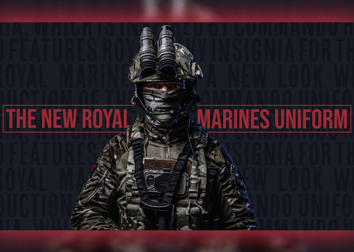 Royal Marines Uniform 2020