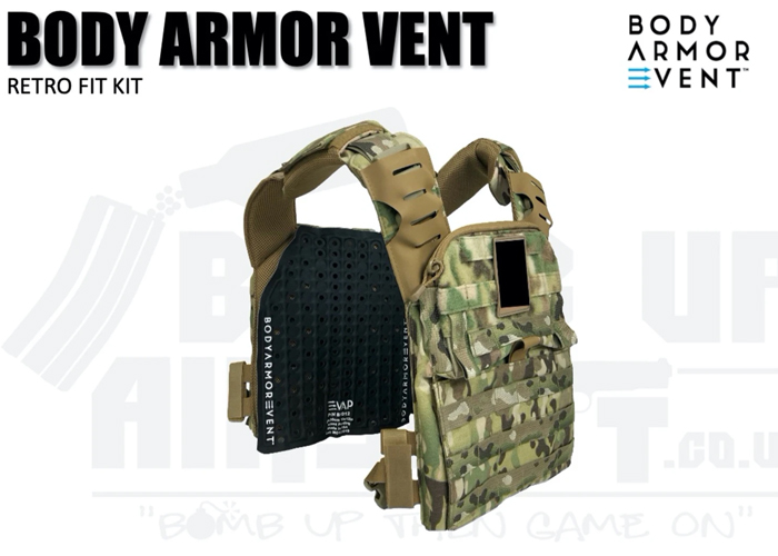 Bomb Up Airsoft Body Armour Vent Retro Fit Kit