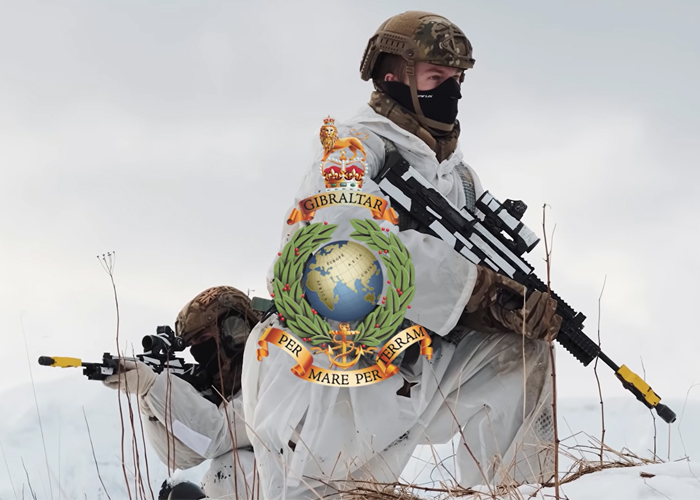 Royal Marines Arctic Commandos