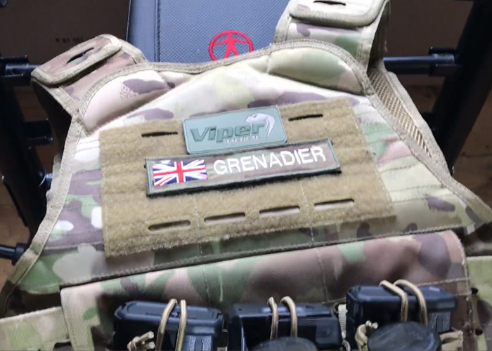Airsoft Grenadier: Viper Tactical Lazer Cut Platform