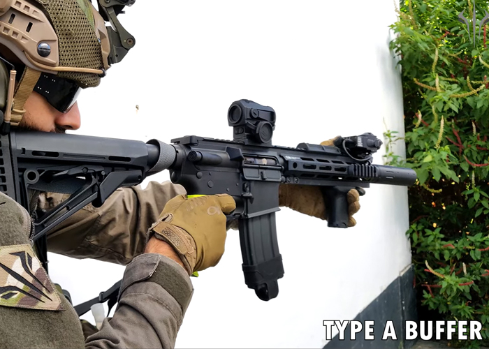 BESTA Airsoft On The GBLS DAS Type A & Type B Buffers