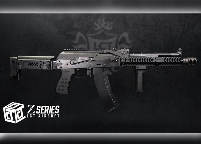 LCT Airsoft Z-Series ZPT-1 & ZPT-3 Stocks